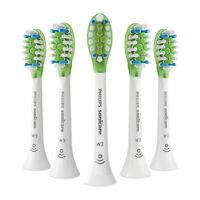 5x Philips Sonicare DiamondClean W3 Whitening Sonic Brush Heads | White | No Box