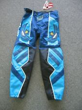 NEW FLY RACING BMX race pants Blue size 30