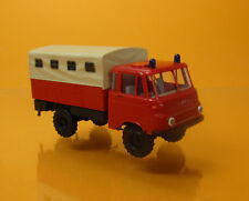 Busch 51653 IFA Robur LO 1801 A Feuerwehr DDR Scale 1 87 NEU OVP