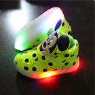 LED Kids Boys Girls Shoes Light Up Luminous Children Trainers 3 colors