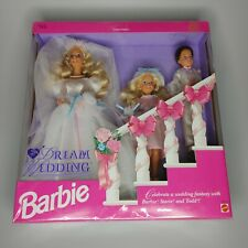 1993 Barbie Dream Wedding W/ Stacie And Todd Authentic NIB 10712 Limited Edition