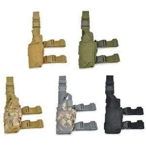 Tactical Belt Drop Holster with Leg Straps Thigh Holster Leg Rig For Pistol