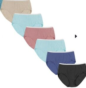 5 pack just my size ribbed panties briefs sizes 9 - 14 choose your size