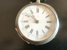 Pocket Watch Mechanical Silver Faulty - REF51407