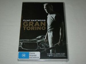 Gran Torino - Clint Eastwood - Brand New & Sealed - Region 4 - DVD