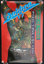 Dokken Beast From the East Live in Japan 1988 in store promo poster!!!