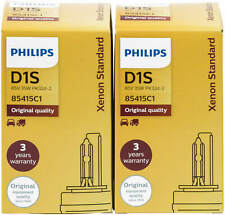 2X Xenon D1s Lampe Philips Scheinwerfer Brenner Xenstart 85415C1 Standard 85415