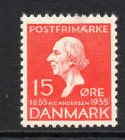 Denmark 15 Ore Stamp c1935 Mounted Mint  (1467)