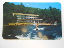 Old Postcard. Deposit, New York, Chestnut Lodge On Oquaga Lake