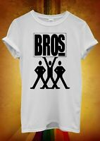 Bros T Shirt 80'S Reunion 2019  Concert Tour T Shirt Men Women Unisex Baggy 2237