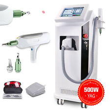 500W Yag Laser Tattoo Removal Machine Q Switched ND Yag Laser Pigment Remove SPA