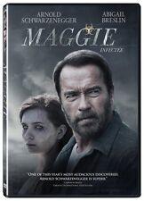 Maggie (DVD) Arnold Schwarzenegger, Abigail Breslin NEW