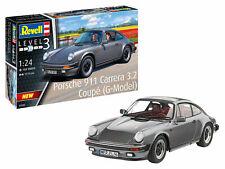 Revell 07688 Porsche 911 Carrera 3.2 Coupe Plastik Modellbausatz 1:24 NEU