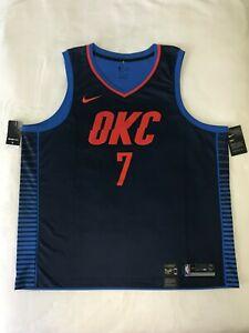 ZHANGYU Carmelo Traning Jersey Anthony Ricamo Oklahoma Basketball Jersey City Felpa Thunder T-Shirt #7 Swingman Jersey Blu Icon Edition