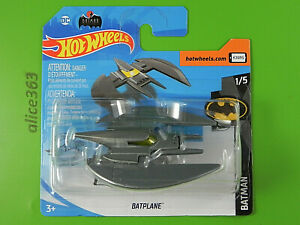 Hot Wheels 2020 - Batplane - Batman - 56 - Neuf Emballage D'Origine