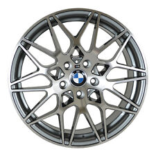 Set of 4 Wheels 18 inch Gunmetal Rims fits BMW 5 SERIES (F10) 2011 - 2018