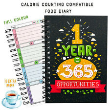 2021 DIET DIARY FOOD LOG EASY 7 WK WINTER SUMMER- 🤗CALORIE COUNTING TRACKING