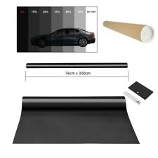 Auto Tönungsfolie 76x600cm Fenster Tiefschwarz 5% Sonnenschutzfolie