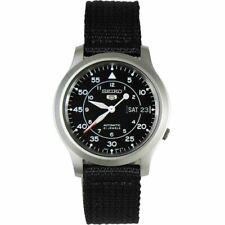 Seiko 5 Automatic Military Nylon Watch SNK803K2 SNK805K2 SNK809K2 SNK807K2