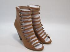 $129 NIB Womens BCBGeneration Alise Caged Sandal Toffee / Brown 9M