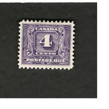 1933 Canada SC #J13 Postage Due MH stamp 4c