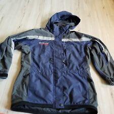 Columbia coat women jacket M med challenge series warm winter ski snowboard blue
