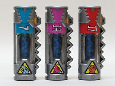 ZYUDENCHI empty ver. #7 #14 #17 set of 3 Power Rangers Dino Charge Energems