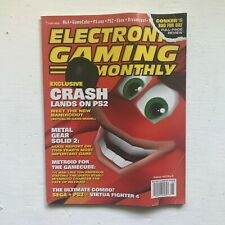 Electronic Gaming Monthly May 2001 Crash Bandicoot Cover Vg-