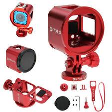 PULUZ for GoPro HERO5/4 Session Housing Shell Aluminum Protective Frame Case Kit