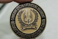 Canadian Special Operations Regiment Challenge Coin