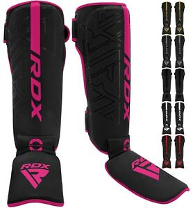 RDX Shin Guards for Kickboxing, Muay Thai, MMA Fighting and Training Pads
