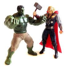 "Película Los Vengadores Marvel Leyendas Comics Hulk Vs Thor detallada Lote 5"" Figura de juguete,"