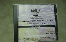 Christina Aguilera Oasis Master CD Lady Marmalade with Pink, Mua, and Lil' Kim