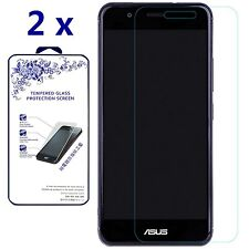 [2-Pack] For Asus ZenFone 3 Max ZC520TL [Tempered Glass] Screen Protector 9H