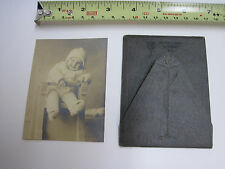 Gelatin silver child photograph by Miss Minnie Libby Norway Maine ? Vivian Akers
