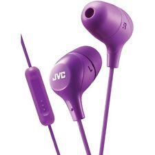 JVC HAFX38MV Marshmallow In-Ear Kopfhörer mit Mikrofon (Lila)
