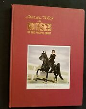 Vintage Here's Who in Horses of the Pacific Coast Vol. 4 1947 Hall of Fame