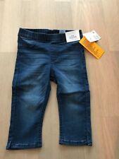 Treggings, Jeans, dunkel blau, 3/4-Länge, H&M, 98, Neu mit Etikett