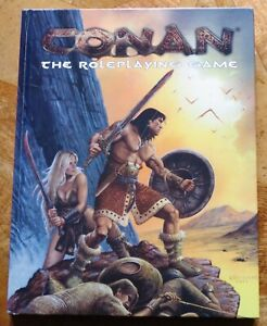 Conan: The Role Playing Game by Tucker, Paul (Hardback/cover Book) - V.G.C