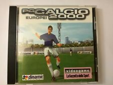 PC CALCIO 2000 EUROPEI ITALIANO INTROVABILE FUNZIONANTE DINAMIC MULTIMEDIA SPORT