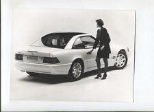 N°10032 /  MERCEDES Roadster SL avec toit en verre : photo et diapositve 1993