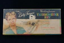 Vintage Betty Furness Candy Thermometer. 1950s Westinghouse W Box