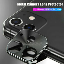 Full Cover Metal Camera Lens Screen Protector Film For iPhone 11 Pro Max XS XR X
