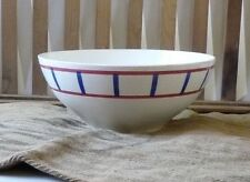 Grand saladier DIGOIN SARREGUEMINES France Large French vintage salad Bowl