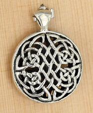 Anhänger Silber Celtic keltischer knoten ohne Anfang / Ende  Schutz Amulett