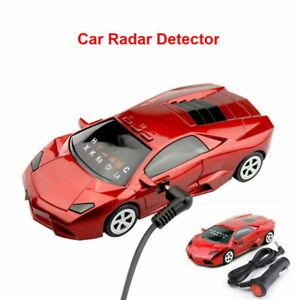 360° Car Radar Laser Detector Speed Anti-Police GPS Voice Alert Alarm Safety B