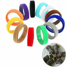 12 Colors 350mm Adjustable Newborn Puppy Whelping Id Collars Bands Pet Dog Tags