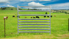 Cattle Horse Sheep Goat Alpaca Combo Combination Yard Panels. 9 Oval Rails, Pins