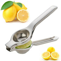 Stainless Steel Lemon Orange Lime Squeezer Juicer Hand Press Kitchen Tool
