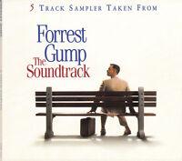 B.O. de Film CD Sampler 5 Track Sampler Taken From Forrest Gump The Soundtrack